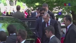 New Video Shows Erdogan Watching Washington Brawl