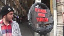 Истанбулда Кырым оккупациясенә каршы урам җыены узды