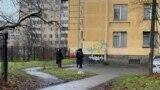Дом в Колпино, где в заложники захватили шестеро детей
