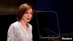 Președintele Republicii Moldova, Maia Sandu, în fața celei de a 76-a Adunare Generală a ONU