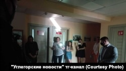 """В редакции """"Углегорских новостей"""""""