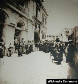 Освящение Александровского подворья в Иерусалиме в 1896 году. Фото: Wikimedia Commons