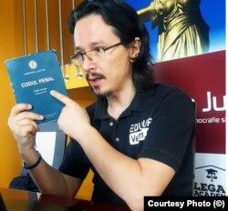 Judecătorul Cristi Danileț, încă fascinat de Codul Penal
