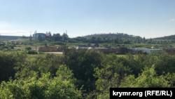 Российские военные у реки Биюк-Карасу, 25 мая 2021 года