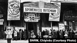"""""""Cuirasatul Potemkin """", unul din primele filme sovietice acceptate în circulație internațională"""