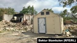 Село Аксай Баткенской области после приграничного конфликта, июнь 2021 г.