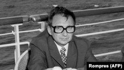 ROMANIA -- Ion Mihai Pacepa the chief of Securitate, April 1975