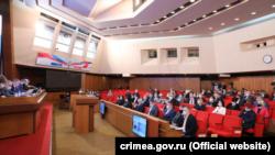 Rusiye nezaretinde olğan Qırım parlamentiniñ sessiyası, 2021 senesi martnıñ 31