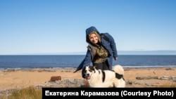 Екатерина Карамазова. Берег Ледовитого океана