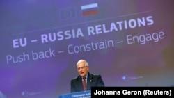 جوزپ بورل میگوید اتحادیه اروپا باید خود را برای وخامت مناسبات با روسیه که اکنون در نازلترین سطح است آماده کند.