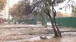 Бунёди эстакада дар Душанбе мардумро саргардон кард