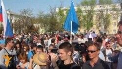 В Астрахани прошел митинг в поддержку Шеина