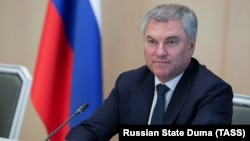 Duma speaker Vyacheslav Volodin (file photo)