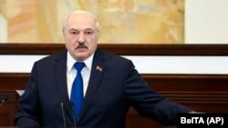 Претседателот на Белорусија, Александар Лукашенко.