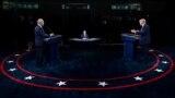 Fotografi nga debati i parë presidencial i mbajtur në Ohajo.