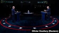 Donald Trump și Joe Biden, în prima dezbatere electorală