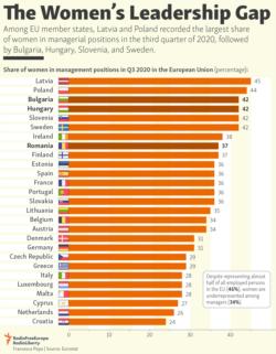 Infographic - The Women's Leadership Gap