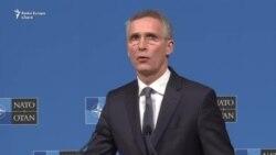 """Stoltenberg: """"Cerem Rusiei să elibereze imediat navele ucrainene și pe marinari"""""""