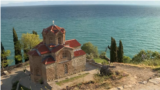North Macedonia - Lake Ohrid, a protected UNESCO world heritage site - screen grab