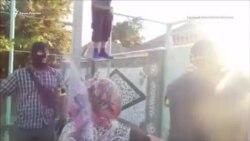 Как Рената Параламова увезли в неизвестном направлении (видео)