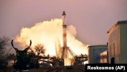 سفینهی بیسرنشین باربری روسیه که به ایستگاه فضایی بینالمللی پرتاب شد