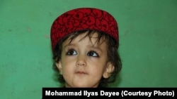 Dayee''s 1.5-year-old daughter Mehrabani.