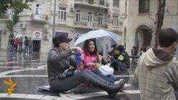 Bakıda növbəti Flashmob