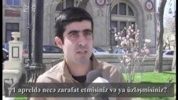 """Bakı sakinlərinin """"qorxulu"""" zarafatları"""