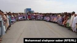 مالکان معترض موترهای آتشسوزی گمرک اسلامقلعه