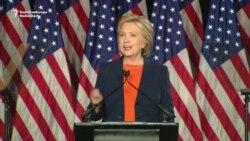 Clinton Criticizes Trump's 'Affection For Tyrants'