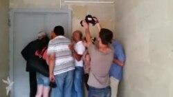 Jurnalistin cəsədi morqa aparılıb- [video]