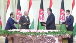 Ghani In Tajikistan For Hydroelectric Launch