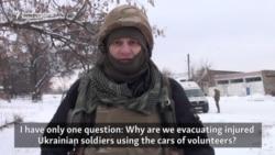 Volunteer Medics Demand Ukraine Provide Frontline Ambulances