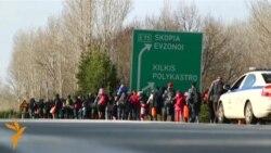 Македонија меѓу мигрантите, Грција и поделената ЕУ