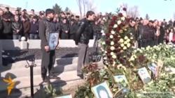 В Гюмри прошли похороны Сережи Аветисяна