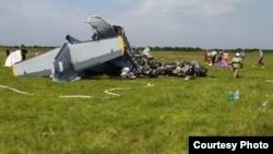 Авиакатастрофа на Танае. Фото: пресс-служба правительства Кузбасса