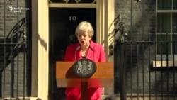 Theresa May și-a anunțat demisia, cu ochii în lacrimi