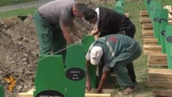 Final Preparations Ahead Of Srebrenica 20th Anniversary Memorial