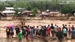 Щонайменше 90 людей загинуло внаслідок тропічного шторму на Філіппінах (відео)