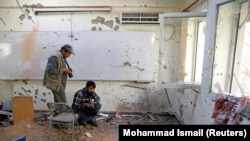 آرشیف، تصویر پس از حمله بر پوهنتون کابل