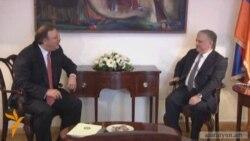 Վրաստանի արտգործնախարար Գրիգոլ Վաշաձեն Երեւանում է