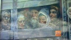 Во Львове почтили память депортированных крымских татар