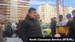 Сход в Касписйске
