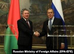 Встреча министров иностранных дел России и Беларуси