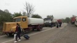 A KFOR veszi át az irányítást a koszovói-szerb határon