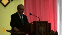 Învestirea noului preşedinte al Moldovei