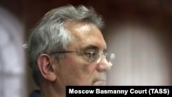Ivan Belozercev a bíróság meghallgatásán 2021. március 22-én, Moszkvában.