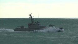 Нові броньовані військові катери отримали імена і взяли участь у навчаннях біля Одеси (відео)