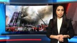 Ticarət Mərkəzi nədən yandı?