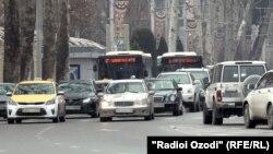 Центральный проспект Душанбе